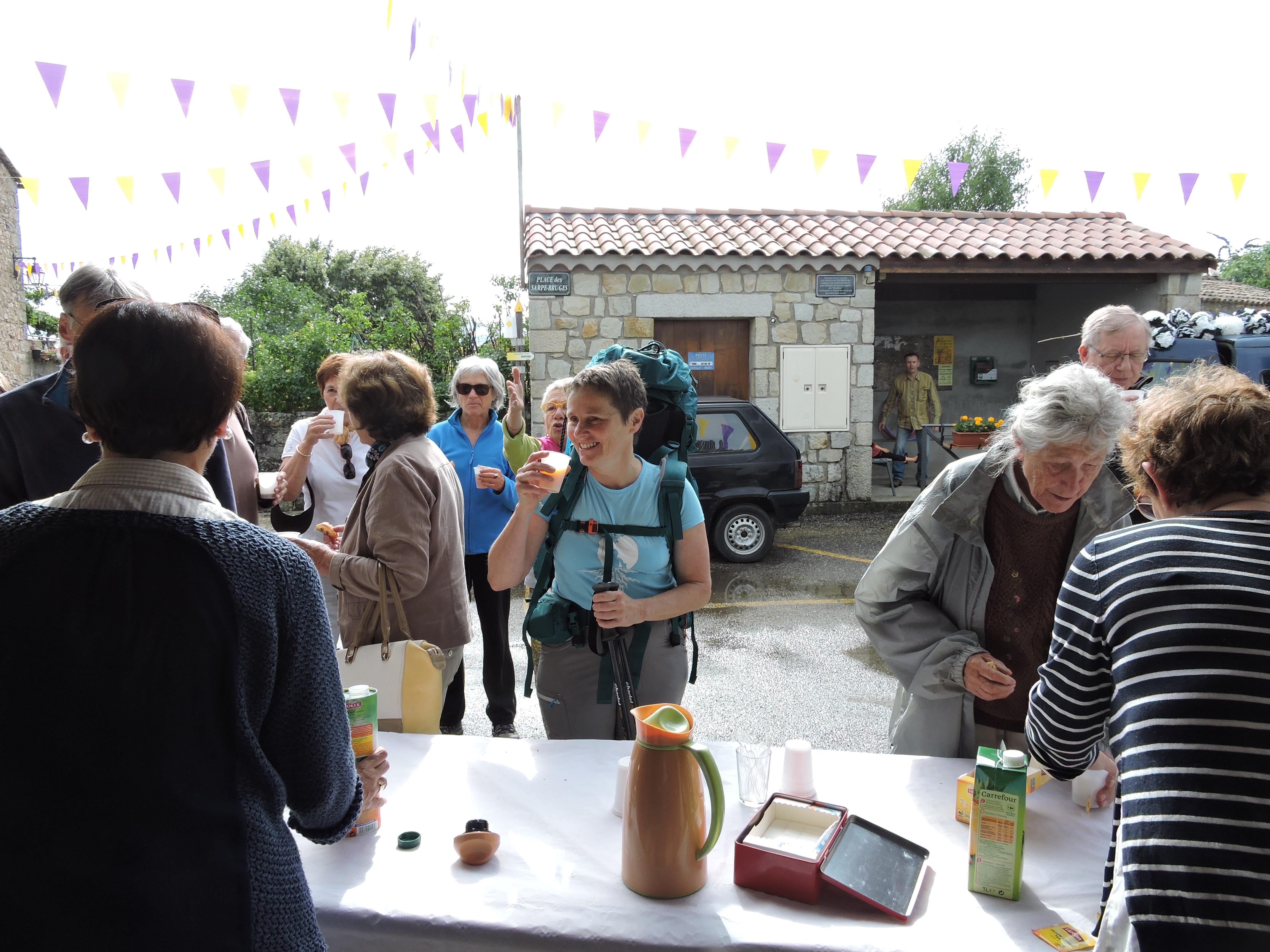 Un dernier café offert par la Mairie