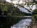Au-revoir à la rivière du bivouac